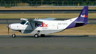 A picture of N873FE - Cessna 208B Super Cargomaster - FedEx - © Paul W Furmanski