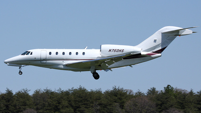 N750HS - Cessna 750 Citation X - Private