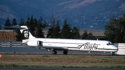 N953AS - McDonnell Douglas MD-82 - Alaska Airlines