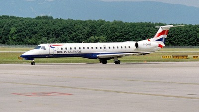 G-EMBS - Embraer ERJ-145EU - British Airways (CitiExpress)