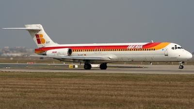 EC-EXT - McDonnell Douglas MD-87 - Iberia