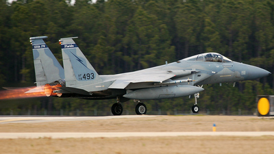 78-0493 - McDonnell Douglas F-15C Eagle - United States - US Air Force (USAF)