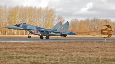 4104 - Mikoyan-Gurevich MiG-29A Fulcrum A - Poland - Air Force