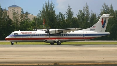 N410AT - ATR 72-212 - American Eagle (Executive Airlines)
