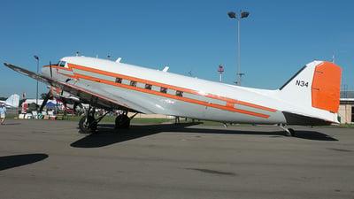 N34 - Douglas DC-3C - United States - Federal Aviation Administration (FAA)