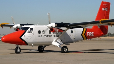 N141Z - De Havilland Canada DHC-6-300 Twin Otter - United States - US Forest Service (USFS)