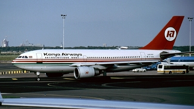 5Y-BEN - Airbus A310-304 - Kenya Airways