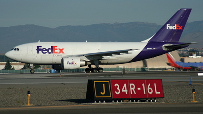 A picture of N410FE - Airbus A310203(F) - [356] - © mike evans