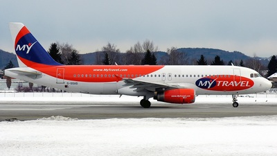 G-SSAS - Airbus A320-231 - MyTravel Airways