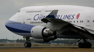B-18272 - Boeing 747-409 - China Airlines