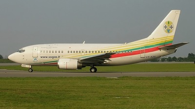 LY-AZX - Boeing 737-5Q8 - Interstate Airlines