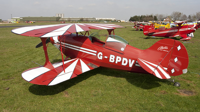 A picture of GBPDV - Pitts S1S Special - [27P] - © Lewis Steeper