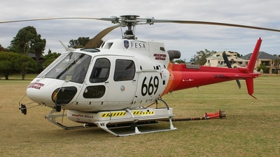 VH-WCD - Eurocopter AS 350B3 Ecureuil - Helicopters Australia