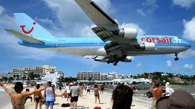 F-GTUI - Boeing 747-422 - Corsair