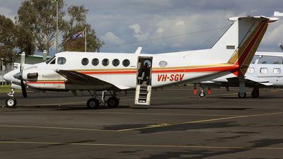 VH-SGV - Beechcraft 200 Super King Air - Great Western Aviation
