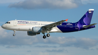 D-AVVA - Airbus A320-214 - Wataniya Airways