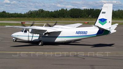 N95590 - Rockwell 690B Turbo Commander - Private