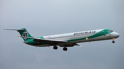 PK-IMC - McDonnell Douglas MD-82 - Bouraq Indonesia Airlines