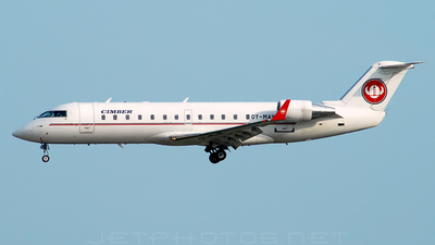 OY-MAV - Bombardier CRJ-200LR - Cimber Air