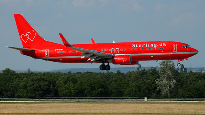 OY-SEL - Boeing 737-8BK - Sterling Airlines