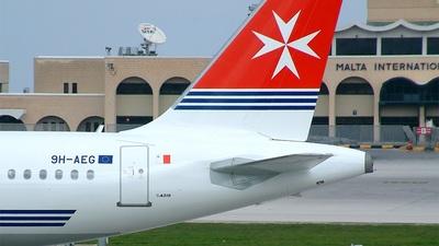 9H-AEG - Airbus A319-112 - Air Malta