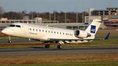 OY-RJC - Bombardier CRJ-100LR - Scandinavian Airlines (Cimber Air)