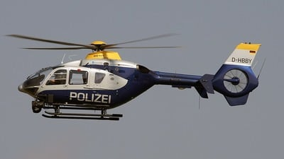 D-HBBY - Eurocopter EC 135P2 - Germany - Police
