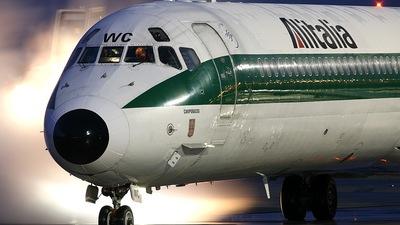 I-DAWC - McDonnell Douglas MD-82 - Alitalia