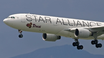 HS-TEL - Airbus A330-322 - Thai Airways International