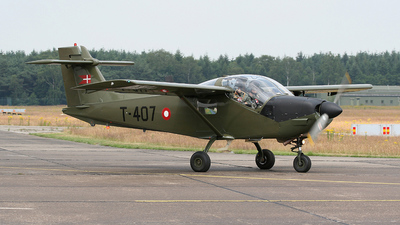 T-407 - Saab T-17 Supporter - Denmark - Air Force