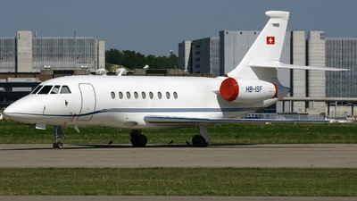 HB-ISF - Dassault Falcon 2000 - Servair Private Charter