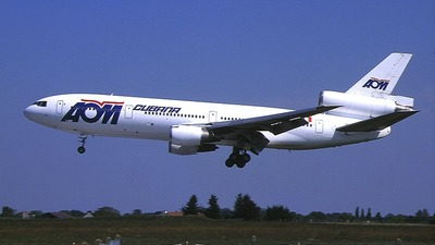 F-GTDF - McDonnell Douglas DC-10-30 - AOM French Airlines