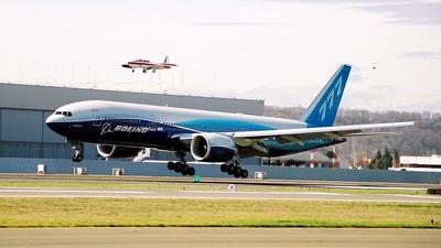 N60659 - Boeing 777-240LR - Boeing Company