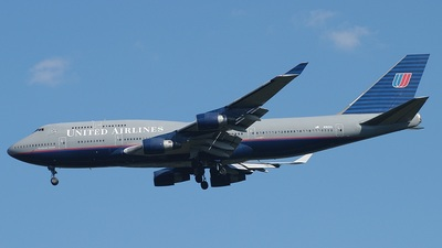 N182UA - Boeing 747-422 - United Airlines