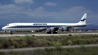 EC-DVB - Douglas DC-8-61 - Spantax