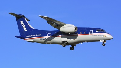 N352SK - Dornier Do-328-300 Jet - Midwest Express Connection (Skyway Airlines)