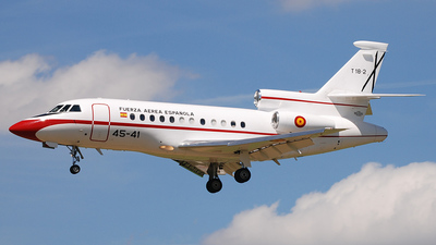 T.18-2 - Dassault Falcon 900 - Spain - Air Force