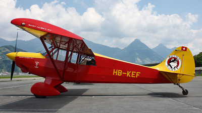 HB-KEF - Aviat A-1 Husky - Private