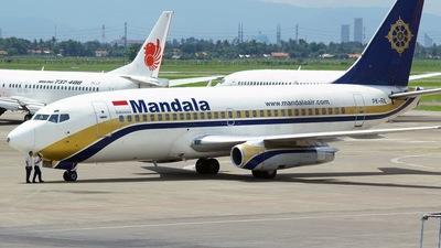 PK-RIL - Boeing 737-230(Adv) - Mandala Airlines