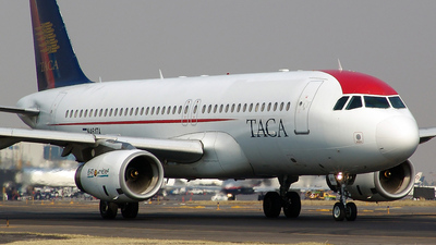 N461TA - Airbus A320-233 - TACA International Airlines