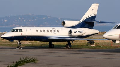 N929ML - Dassault Falcon 50 - Private