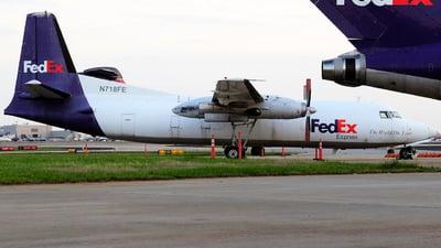 N718FE - Fokker F27-500F Friendship - FedEx Feeder (Mountain Air Cargo)
