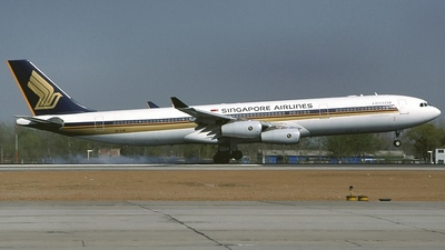 9V-SJB - Airbus A340-313X - Singapore Airlines