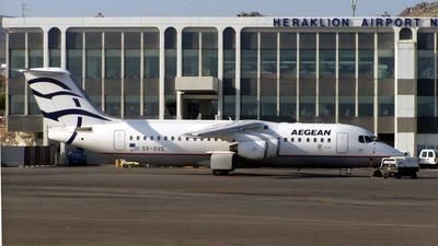 SX-DVE - British Aerospace Avro RJ100 - Aegean Airlines