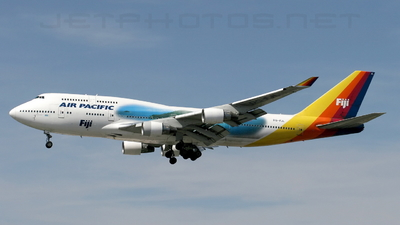 DQ-FJL - Boeing 747-412 - Air Pacific