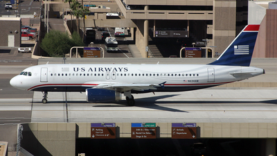 N634AW - Airbus A320-231 - US Airways (America West Airlines)