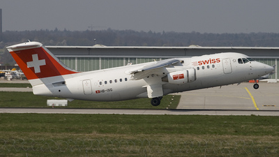 HB-IXG - British Aerospace Avro RJ85 - Swiss