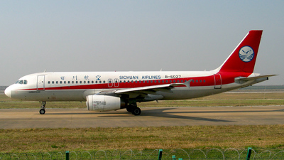 B-6027 - Airbus A320-233 - Sichuan Airlines