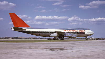 N607US - Boeing 747-151 - Northwest Orient Airlines