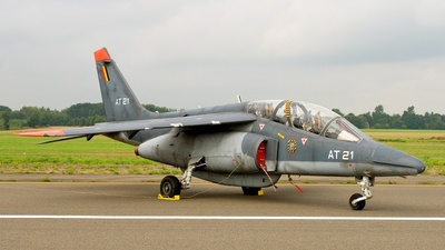 AT-21 - Dassault-Dornier Alpha Jet 1B+ - Belgium - Air Force